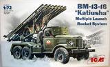БM-13-16 РСЗО на базе Зил-157 - 72571 ICM 1:72