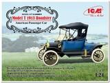Model T 1913 Roadster пассажирский автомобиль - 24001 ICM 1:24
