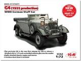 Typ G4 обр.1935 представительский автомобиль - 72471 ICM 1:72