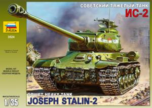 ИС-2 Советский тяжёлый танк - Звезда 3524 1:35