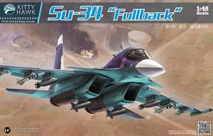 Су-34 истребитель-бомбардировщик - KH80141 Kitty Hawk 1:48