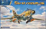 Су-17/22 УМ-3К учебно-боевой истребитель-бомбардировщик. 80147 Kitty Hawk 1:48