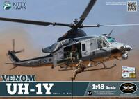 UH-1Y Venom вертолет - KH80124 Kitty Hawk 1:48