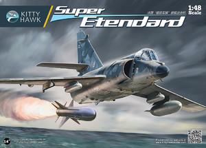 Super Etendard палубный истребитель-бомбардировщик - KH80138 Kitty Hawk 1:48