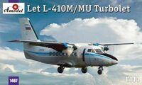 L-410 Let Турболет пассажирский лайнер Аэрофлот - 1467 Amodel 1:144