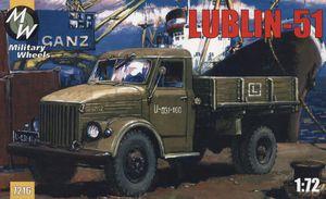 Грузовик Lublin 51. Масштаб 1/72