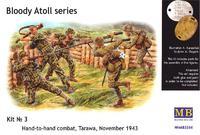 Кровавый атолл Tarawa рукопашная 1943 - MB3544 Master Box 1:35