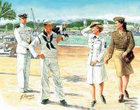 Женщины на войне: ВМС США. MB3556 Masterbox 1:35