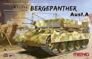 Bergepanther Ausf.A German Armored Recovery Vehicle Sd.Kfz.179 - SS-015 Meng 1:35