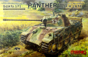 Sd.Kfz.171 Panther Ausf.A Late (Пантера-А поздняя) - TS-035 Meng 1:35