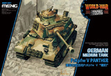 WW Toons PzKpfw V Panther German Medium Tank - WWT-007 Meng Egg