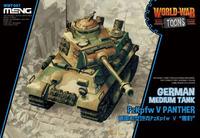 Pz Kpfw V «Пантера» средний танк. Meng WWT-007