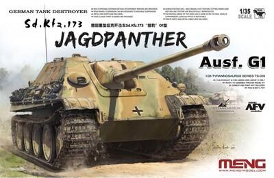 German Tank Destroyer Sd.Kfz. 173 Jagdpanther Ausf. G1 - TS-039 Meng 1:35