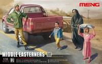 Арабы на улице. HS-001 Meng 1:35