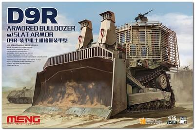 D9R Armored Bulldozer w/Slat Armor - SS-010 Meng 1:35
