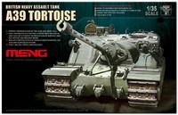 A39 Tortoise (Черепаха) тяжелая штурмовая САУ - TS-002 Meng 1:35