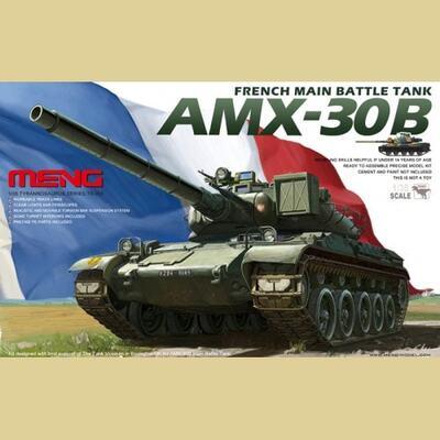 French Main Battle Tank AMX-30B - TS-003 Meng 1:35