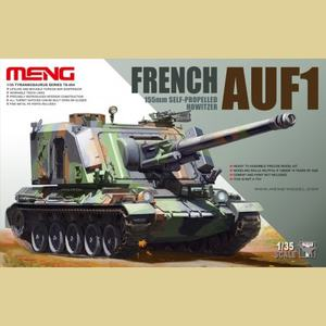 French AUF1 155MM Self-Propelled Howitzer - TS-004 Meng 1:35