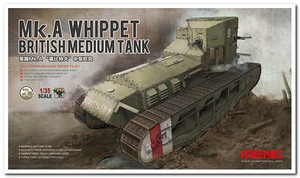 Мк.А «Уиппет» средний танк (Medium Mk A Whippet). TS-021 Meng 1:35
