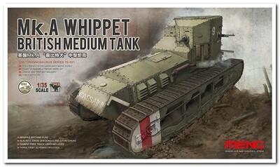 Mk.A Whippet British Medium Tank - TS-021 Meng 1:35