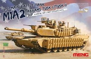 """М1А2 SEP """"Абрамс"""" с TUSK 1/2 ОБТ (M1A2 SEP ABRAMS TUSK I/II MBT). TS-026 Meng 1:35"""