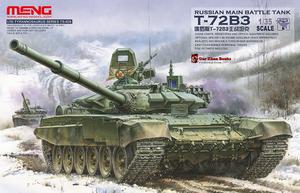 Russian Main Battle Tank T-72B3 - TS-028 Meng 1:35