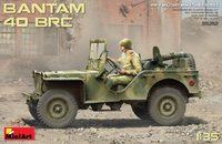 Bantam BRC 40 джип с советским экипажем и пулеметом. 35212 MiniArt 1:35
