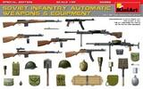 Советское пехотное автоматическое оружие и амуниция - 35268 MiniArt 1:35