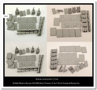 ДЗ Контакт-5 комплект для T-90 - Т-72БА - Т-72Б3 - B35065 Miniarm 1:35