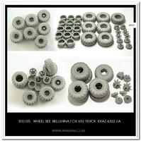 KрАЗ-6322 набор колес Белшина - B35105 Miniarm 1:35