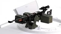 «Корд» крупнокалиберный пулемет на установке 6У16 для ГАЗ «Тигр-М» СПН. B35152 Miniarm 1:35