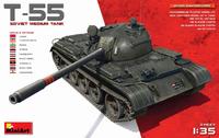 Т-55 средний танк - 37027 Miniart 1:35