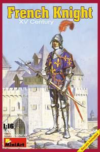 Французский рыцарь XV век - 16001 MiniArt 1:16
