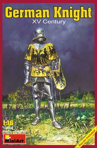 Немецкий рыцарь XV век - 16002 MiniArt 1:16