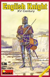 Английский рыцарь XV век - 16004 MiniArt 1:16
