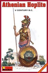 Афинский гоплит V век до н.э. - 16014 MiniArt 1:16