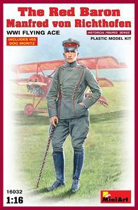 Красный барон Манфред фон Рихтгофен летчик-ас - 16032 MiniArt 1:16