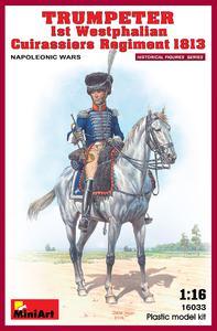 Трубач 1-го Вестфальского кирасирского полка 1813 - 16033 MiniArt 1:16