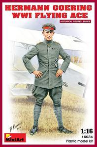 Герман Геринг лётчик-ас - 16034 MiniArt 1:16