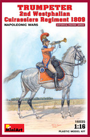 Трубач 2-го Вестфальского кирасирского полка 1809 - 16035 MiniArt 1:16