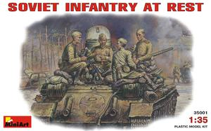 Советская пехота на отдыхе (1943-45) - 35001 MiniArt 1:35