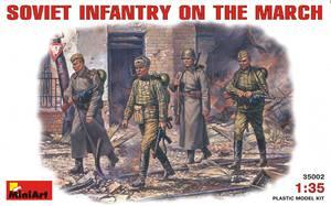 Советская пехота на марше - 35002 MiniArt 1:35