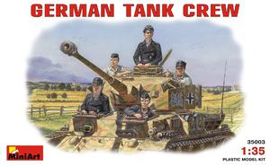 Немецкий танковый экипаж - 35003 MiniArt 1:35