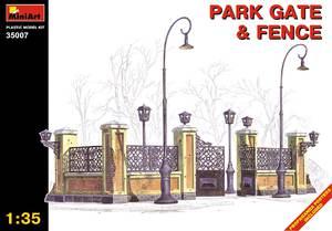 Парковая ограда и ворота - 35007 MiniArt 1:35