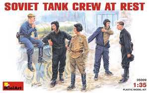 Советский танковый экипаж на отдыхе - 35009 MiniArt 1:35