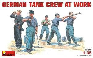 Немецкий танковый экипаж за работой - 35010 MiniArt 1:35