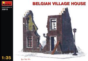 Бельгийский деревенский дом - 35015 MiniArt 1:35