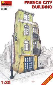 Французское городское здание - 35019 MiniArt 1:35