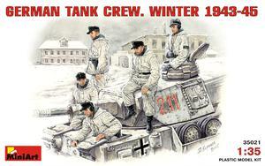 Немецкий танковый экипаж зима 1943-45 - 35021 MiniArt 1:35