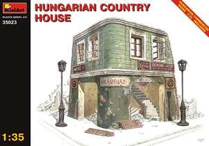 Венгерский деревенский дом - 35023 MiniArt 1:35